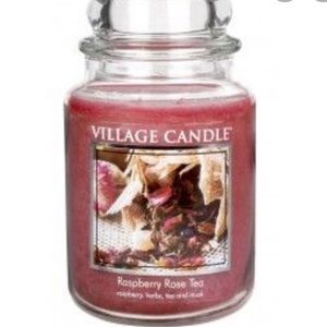 🆕 Village Candle Raspberry Rose Tea Candle